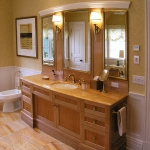 Greenwich, Connecticut, master bath and vanity.