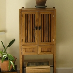Sold rosewood cabinet in Basalt, Colorado.